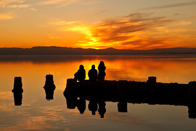 06/01/2012 Watching Sunset over Salton Sea